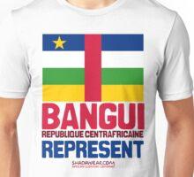 Bangui, Centrafrique. Represent Unisex T-Shirt