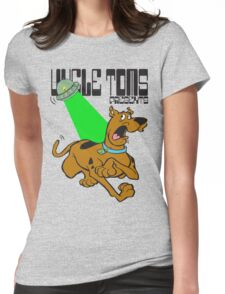 scooby versus spongebob by rogers bros Womens Fitted T-Shirt