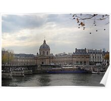 Along the River Seine Poster