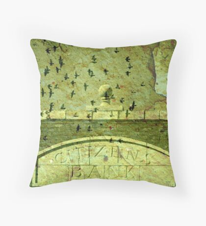 Future Bailouts Of America  Throw Pillow