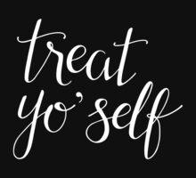 Treat Yo' Self (Black) by Talia Abramson
