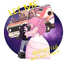 Let me Drive my Van into your Heart Photographic Print