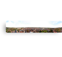 Louth Town 360 Degree Panorama Canvas Print