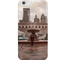 The Lost Man in the Big City iPhone Case/Skin