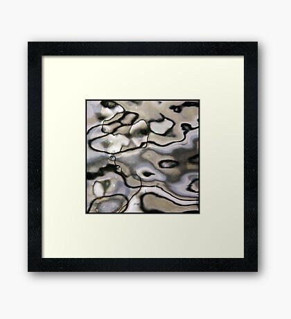looking glass Framed Print