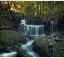 R.B. Ricketts Falls (version II) Oct 2011 by Aaron Campbell