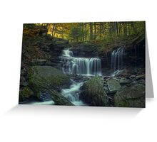 R.B. Ricketts Falls (version II) Oct 2011 Greeting Card