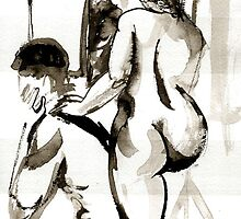 Models for Nude drawing by ivDAnu