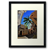 The Fake Morocco Framed Print