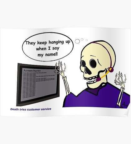 Death in customer service Poster