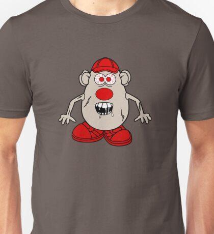 Zombie Potato Head Unisex T-Shirt