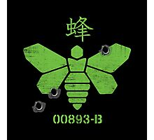 Heisenberg 'Golden Moth' Chemical Logo Shot with Bullet Holes Photographic Print