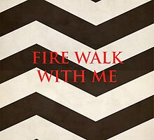 Twin Peaks: Fire Walk With Me Minimalist Poster by Bratwurst !