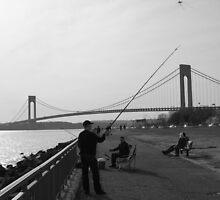 A Fishing Man by jdurban