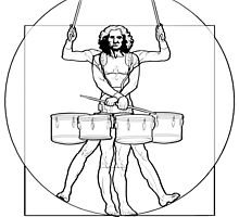 Vitruvian Tenor Drummer by chopsdrumming