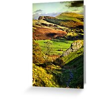 Lose Hill And Great Ridge Greeting Card