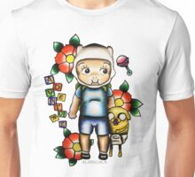 Finn the Kewpie and Jake the puppy Unisex T-Shirt