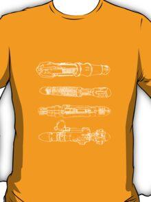 Screwdriver blueprints T-Shirt