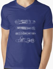 Screwdriver blueprints Mens V-Neck T-Shirt