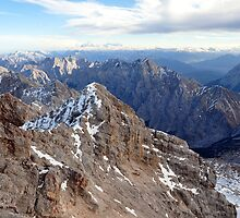 Mountain Wetterstein 2 by Daidalos