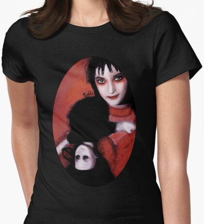 Lydia Deetz Womens Fitted T-Shirt