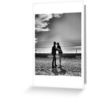 Almost a kiss Greeting Card