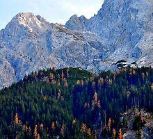 Mount Zugspitze 2.962 m by Daidalos