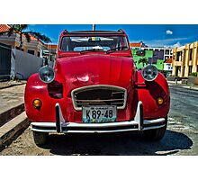 Citroen Photographic Print