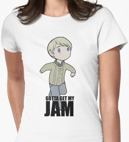 Gotta Get My JAM Womens Fitted T-Shirt