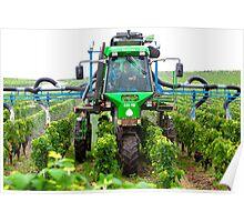 Hi Tech Vineyard Poster