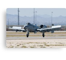 A-10A Thunderbolt II, WA AF 80-0184 Landing Canvas Print