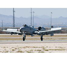 A-10A Thunderbolt II, WA AF 80-0184 Landing Photographic Print