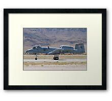 A-10A Thunderbolt II, WA AF 80-0184 Rolling Framed Print
