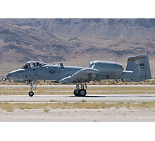 A-10A Thunderbolt II, WA AF 80-0184 Rolling Photographic Print