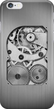 Clockwork iPhone by rubyred