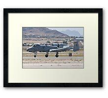 A-10A Thunderbolt II, WA AF 80-0200 Landing Framed Print