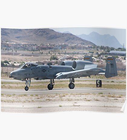 A-10A Thunderbolt II, WA AF 80-0200 Landing Poster