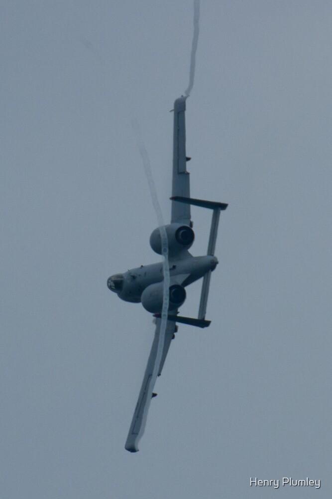 FT AF 81-0967 OA-10A Thunderbolt II Rear Bank Shot by Henry Plumley