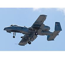 OT AF 79-0171 A-10 Thunderbolt II On Approach  Photographic Print