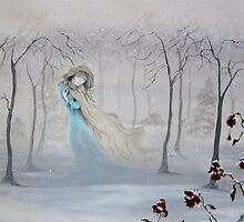 Softly, Gently Comes the Snow by Hannah Aradia