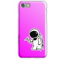 Lonely Astronaut - Pink Iphone case iPhone Case/Skin