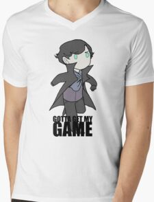 Gotta Get My GAME Mens V-Neck T-Shirt