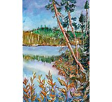 Landscape in the Northern Quebec Photographic Print