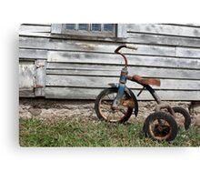 Rusty Trike Canvas Print