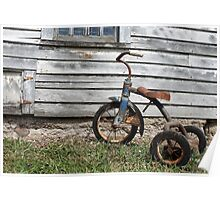 Rusty Trike Poster