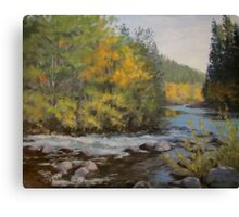 Umpqua Fall Canvas Print