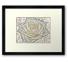 Rose; All Dressed Up Framed Print