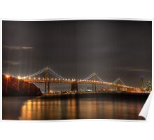 Bay Bridge, San Francisco Poster
