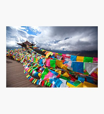 Prayer Flags Photographic Print