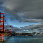 Golden Gate Bridge, HDR by Matt Erickson